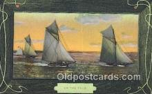 shi100399 - Sail Boat Postcard Post Card