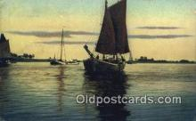 shi100416 - Sail Boat Postcard Post Card