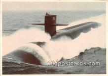 USS Ohio SSBN726 Ship Postcard Post Card