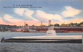 shi400003 - Submarines Post Card Old Vintage Antique Postcard