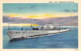 shi400069 - Submarines Post Card Old Vintage Antique Postcard