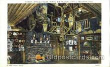 shp001012 - Pahaska Tepee,  Buffalo Bill Museum, Lookout Mountain Colorado, USA Stores & Shops Postcard Postcards