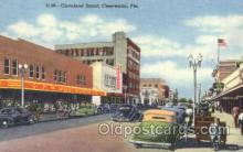 shp001022 - Cleveland Stree, Clearwater, Florida FL, USA Store Fronts and Store Interiors, Postcard Postcards