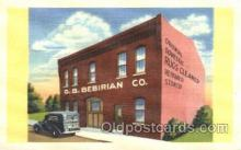 shp001023 - Bebirian Co., Camden, New Jersey, NJ, USA Store Fronts and Store Interiors, Postcard Postcards