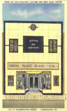 shp001024 - Royal Plate Glass, Johnstown, PA, USA Store Fronts and Store Interiors, Postcard Postcards