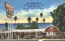 shp001030 - Pottery Barn, Laguna Beach, CA, USA Store Fronts and Store Interiors, Postcard Postcards