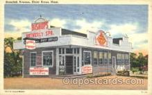 shp001031 - Bishop's Ice Cream, Shore Acres, MA, USA Store Fronts and Store Interiors, Postcard Postcards