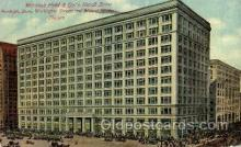 shp001043 - Marshall Field & Co's Retail Store Chicago, IL, USA Postcard Post Cards Old Vintage Antique