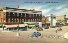 shp001047 - Wyoming Ave, Woolworth Kingston Corners, PA, USA Postcard Post Cards Old Vintage Antique