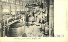 shp001053 - Interior of Power House Niagara Falls, USA Postcard Post Cards Old Vintage Antique