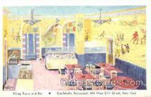 shp001057 - Castleholm Restaurant New York, USA Postcard Post Cards Old Vintage Antique