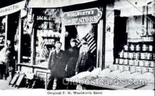 shp001080 - Original FW Woolworth Store  Postcard Post Cards Old Vintage Antique