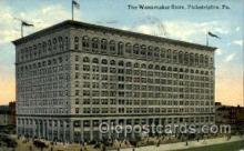 shp001083 - Wanamaker Store Philadelphia, PA, USA Postcard Post Cards Old Vintage Antique