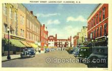 shp001088 - Pleasant Street Claremont, NH, USA Postcard Post Cards Old Vintage Antique