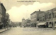 shp001090 - Central Street Franklin, NH, USA Postcard Post Cards Old Vintage Antique