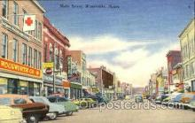 shp001093 - Main Street, Woolworth Waterville, ME, USA Postcard Post Cards Old Vintage Antique