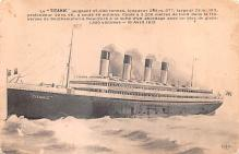 shp002017 - White Star Line Ship Postcard Old Vintage Steamer Antique Post Card
