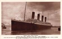 shp002021 - White Star Line Ship Postcard Old Vintage Steamer Antique Post Card