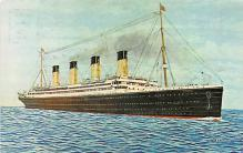 shp002031 - White Star Line Ship Postcard Old Vintage Steamer Antique Post Card