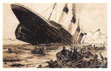 shp002039 - White Star Line Ship Postcard Old Vintage Steamer Antique Post Card