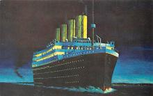 shp002041 - White Star Line Ship Postcard Old Vintage Steamer Antique Post Card