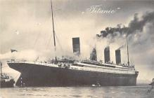 shp002063 - White Star Line Ship Postcard Old Vintage Steamer Antique Post Card