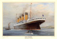 shp002071 - White Star Line Ship Postcard Old Vintage Steamer Antique Post Card