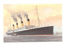 shp002077 - White Star Line Ship Postcard Old Vintage Steamer Antique Post Card