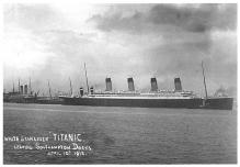 shp002091 - White Star Line Ship Postcard Old Vintage Steamer Antique Post Card