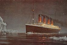 shp002103 - White Star Line Ship Postcard Old Vintage Steamer Antique Post Card