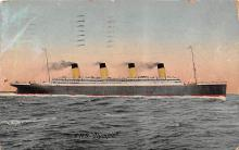 shp003007 - White Star Line Ship Postcard Old Vintage Steamer Antique Post Card