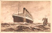 shp003031 - White Star Line Ship Postcard Old Vintage Steamer Antique Post Card