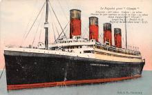shp003045 - White Star Line Ship Postcard Old Vintage Steamer Antique Post Card