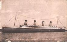 shp003047 - White Star Line Ship Postcard Old Vintage Steamer Antique Post Card