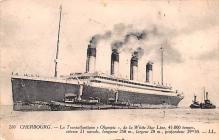 shp003049 - White Star Line Ship Postcard Old Vintage Steamer Antique Post Card