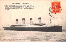 shp003051 - White Star Line Ship Postcard Old Vintage Steamer Antique Post Card