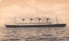 shp003053 - White Star Line Ship Postcard Old Vintage Steamer Antique Post Card