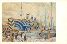 shp003061 - White Star Line Ship Postcard Old Vintage Steamer Antique Post Card