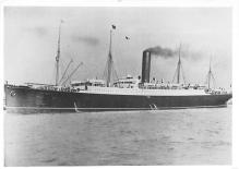 shp004009 - Cunard Line Ship Postcard Old Vintage Steamer Antique Post Card