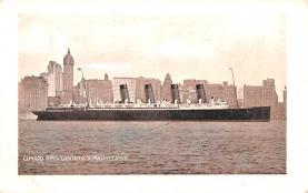 shp005067 - Cunard Line Ship Postcard Old Vintage Steamer Antique Post Card