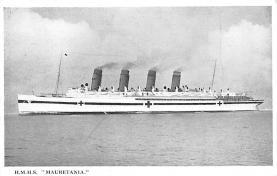 shp006005 - Cunard Line Ship Postcard Old Vintage Steamer Antique Post Card