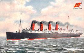 shp006041 - Cunard Line Ship Postcard Old Vintage Steamer Antique Post Card