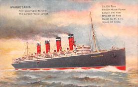 shp006045 - Cunard Line Ship Postcard Old Vintage Steamer Antique Post Card