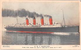 shp006053 - Cunard Line Ship Postcard Old Vintage Steamer Antique Post Card