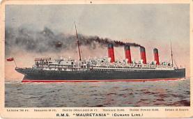 shp006057 - Cunard Line Ship Postcard Old Vintage Steamer Antique Post Card