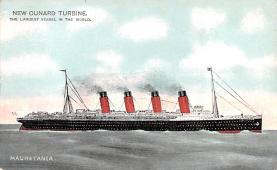 shp006061 - Cunard Line Ship Postcard Old Vintage Steamer Antique Post Card