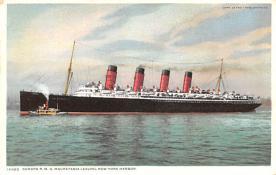 shp006063 - Cunard Line Ship Postcard Old Vintage Steamer Antique Post Card