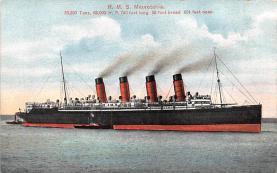 shp006071 - Cunard Line Ship Postcard Old Vintage Steamer Antique Post Card