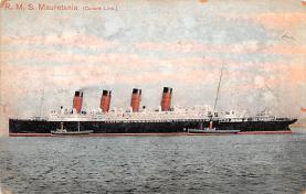 shp006073 - Cunard Line Ship Postcard Old Vintage Steamer Antique Post Card