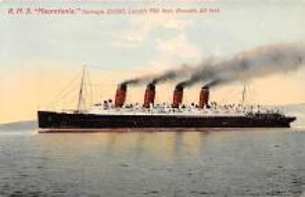 shp006075 - Cunard Line Ship Postcard Old Vintage Steamer Antique Post Card